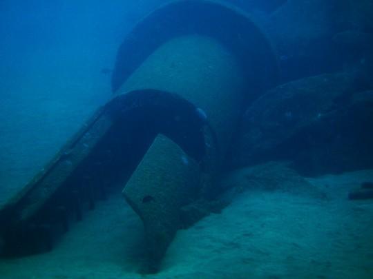 Faro sumergido de Sardina