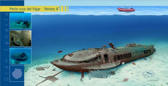 Dibujo del Meteor II